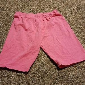 Girls size 10/12 shorts